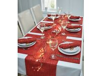 13 Piece Table Top Set - Red, Silver or Gold