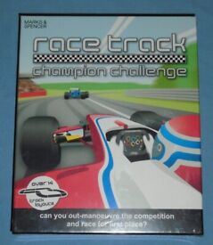'Race Track Champion Challenge' Board Game (new)