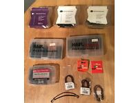 6 packs of Pins & Grips Session Sets & Bunjee Hooks