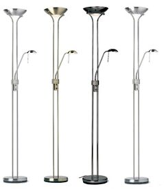 Endon Mother And Child Floor Lamp Halogen Uplighter Standing Reading Light (used) like new