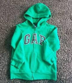 Gap Kids zip up hoodie