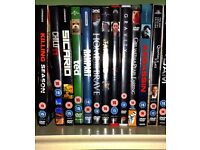 DVD's for sale (13 DVD's, mainly action)