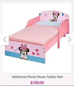 Mickey Mouse Girls bed