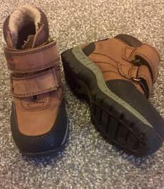 Boys next winter boots size 9