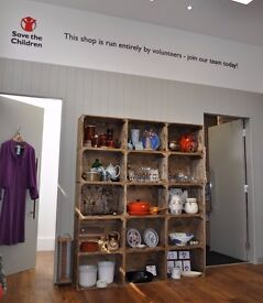 Save the Children Marchmont Road Charity Shop - Join Our Volunteer Team!