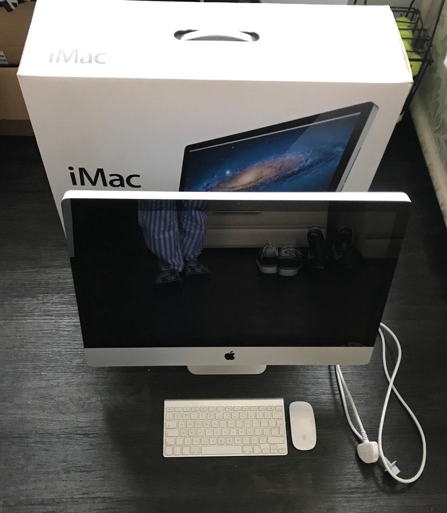 "Apple iMac 27"" Desktop A1312 - 2.7GHz quad-core Intel Core i5 4GB RAM 1TB 7200 rpm Hardrive"