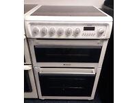 £200 Hotpoint 60cm Ceramic Cooker – 12 Months Warranty