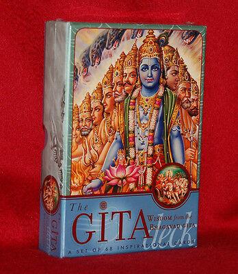 Wisdom From The Bhagavad Gita - The Gita Deck - 68-card Deck - Hinduism