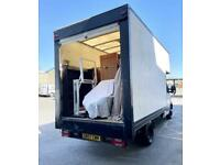 Man With A Luton Van > Removals + Courier >> House/Office Clearances/Moves
