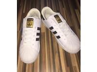 Adidas super star shoes 43