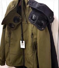 Soft Shell CP Company Jacket Goggle Hooded