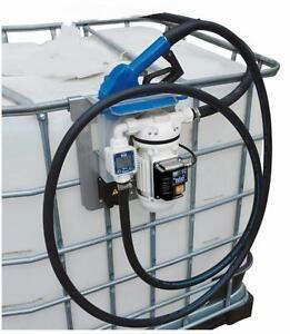 NEW 12V CHEMICAL, DEF & COOLANT PUMP 1000L TOTE
