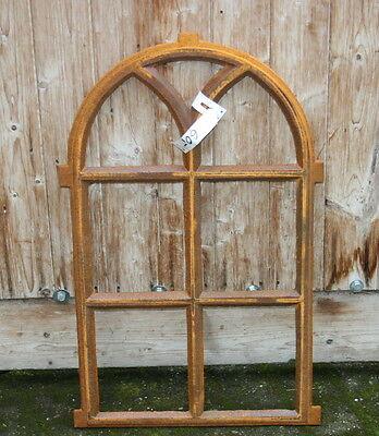 Gussfenster halbrund, Stallfenster,Scheunenfenster,Eisenfenster für Gartenmauer