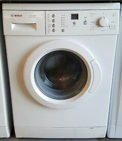 £130 White Bosch Washing Machine – 6 Months Warranty