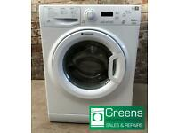 Reconditioned Hotpoint washing machine with guarantee, FREE delivery and fitting SoT