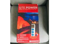 Camping Power Hook Up (15 m cable with UK site plug)