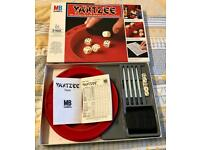 MB Games Vintage 1976 Yahtzee Dice Game. Complete And Good Condition.
