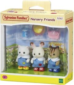Sylvanian Families 5262 Nursery Friends (NEW in Box)