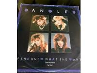The Bangles If she knew what she wants 12 inch