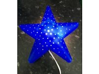 Children's Bedroom Star Lamp