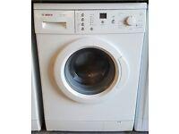 £130 White Bosch Washing Machine – 6 Months Warranty