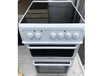 Hotpoint ceramic electric cooker 50cm free delivery