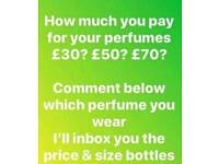 Quality perfume at Quality prices