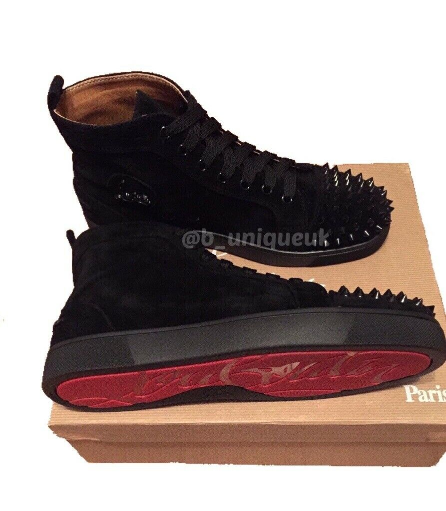 120281880cf Christian Louboutin Toe Cap Spikes Studs Trainers Shoes Men's Women's Boys  Girls Loubs Various Size | in Stratford, London | Gumtree
