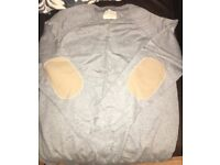 Men's river island grey jumper