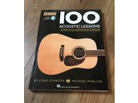 Two acoustic guitar books and DVD