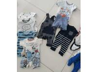 Variety of Newborn/0-3mths Vests.