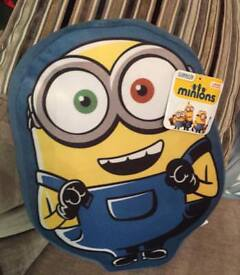 Despicable me - minion cushion - new with tags