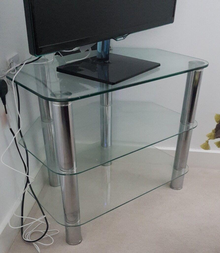 3 Tier Glass Tv Stand In Hucknall Nottinghamshire Gumtree