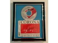 Framed CD - Corona - Rhythm of the Night