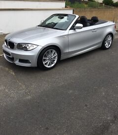 BMW 1 SERIES 120D CONVERTIBLE M SPORT £8859 ( LOW MILES IMMACULATE CAR)