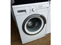 Siemens Bosch 8kg load capacity 1400 spin washing machine A+ energy rated