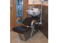 Hairdressing salon Backwash & chair with shower unit