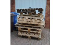 Free pallets...gone pending collection! If you're not fast your last!