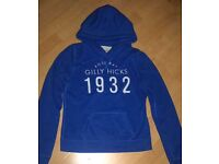 Blue Gilly Hicks Pullover Hoodie
