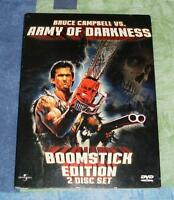 Army of Darkness 2 disc boomstick edition