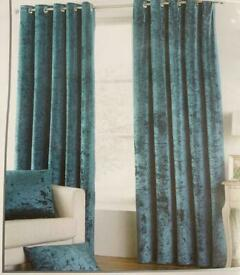 Velvet Ring Top Curtains.