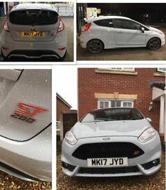 Fiesta ST200 Very unique Storm Grey LOW MILES: 8500