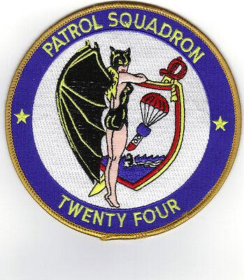 Vp-24 (us Navy Squadron Patch)