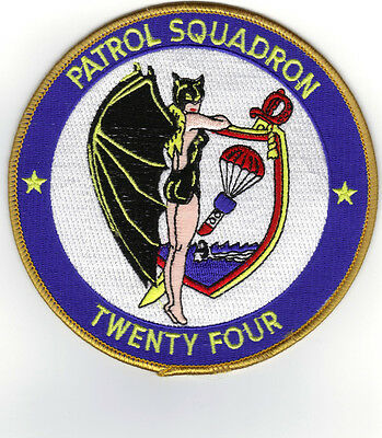 Vp-24 (us Navy Squadron Patch)
