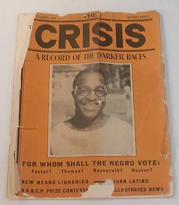 SEP. 1932 THE CRISIS MAGAZINE NAACP AFRICAN AMERICAN HISTORICAL BLACK HISTORY