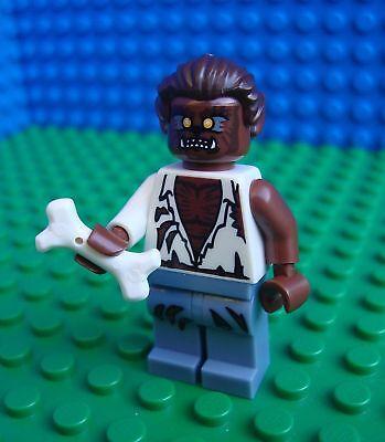 Lego Wolf Man minifig City Town Horror Halloween 8804 Minifigures Series 4