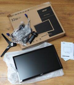 Acer 22 LED monitor