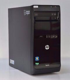 WINDOWS 7 HP PRO 3405 DUAL CORE 2.40 TOWER PC COMPUTER - 4GB RAM - 500GB HDD