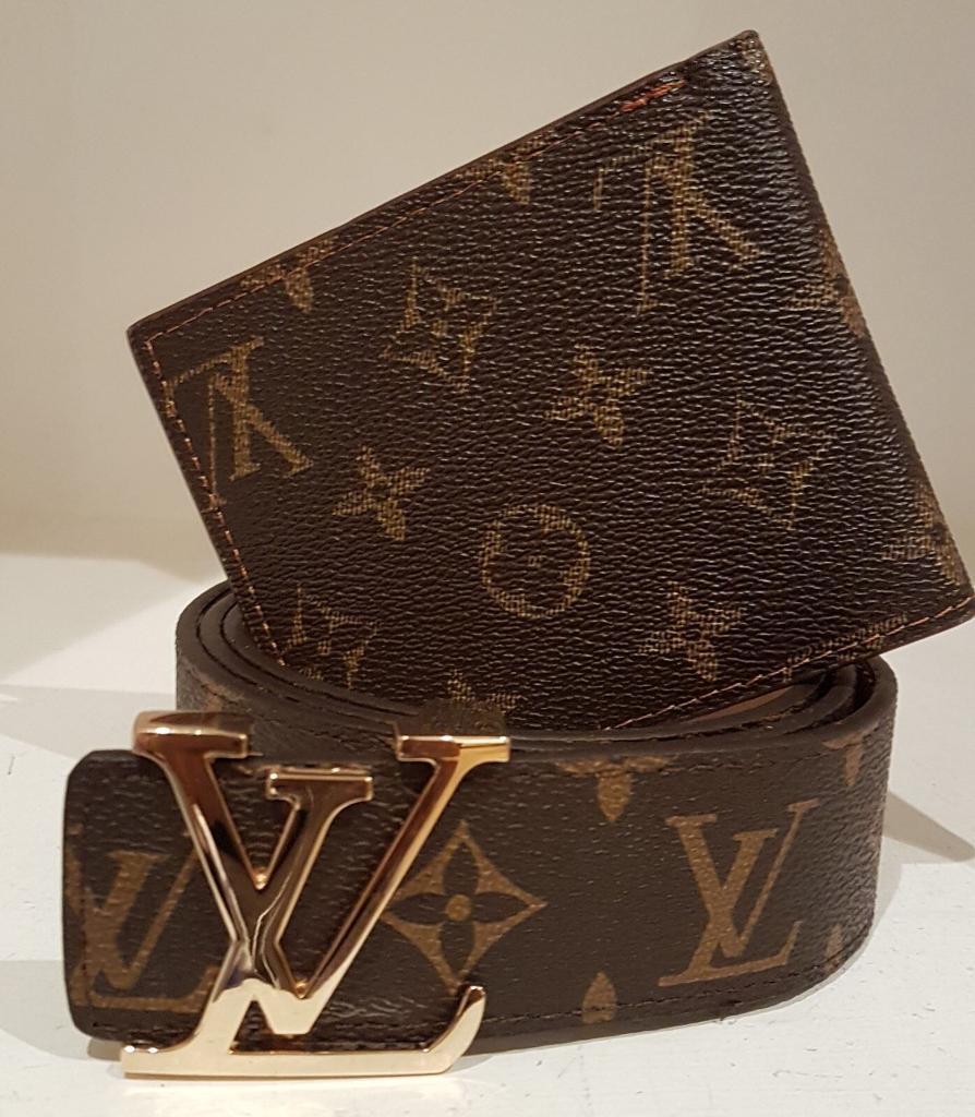 LV belt and wallet mix match!