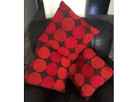 SET OF 3 HABITAT CUSHIONS